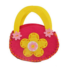 Kids Children Hand Bag Non Woven Building Crafts Puzzle Colorful DIY Toy