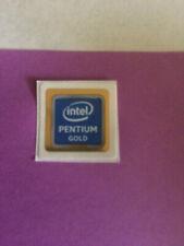Intel Pentium Gold Sticker Logo Decal 18 mm x 18 mm