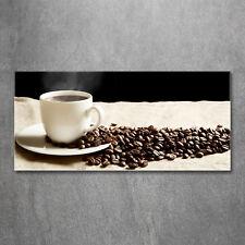 Glas-Bild Wandbilder Druck auf Glas 120x60 Essen & Getränke Aromatischer Kaffee