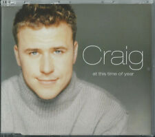 CRAIG - AT THIS TIME OF YEAR / (REMIX) 2000 UK 3 TRACK CD SINGLE CRAIG PHILLIPS