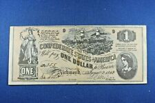 1962 Topps - Civil War News Currency - $1 - Serial #355 - VG Condition