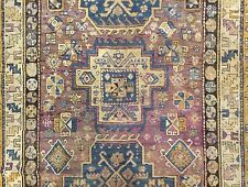 Quality Kuba - 1890s Antique Caucasian Gallery Oriental Rug Carpet - 5.1 x 10.4