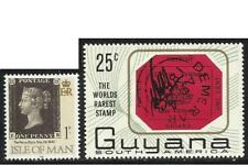 Stamp on Stamp - The First Stamp and the World's Rarest Stamp