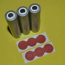 3X 18650 LiFePO4 IFR18650 3.2V LiFe Li-ion battery + insulation adhesive paper