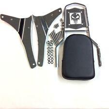 Skull Backrest Sissy Bar For 2005-2012 Suzuki Boulevard M50 VZ800 C50 VL800 C50T