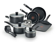 T-Fal Cookware Set 12-Piece Easy Care Non-Stick Home Cook Kitchen NEW