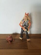 Star Wars Jar Jar Binks Tatooine Figure Power of the Jedi  2001