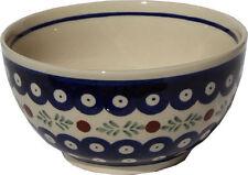 Polish Pottery Ice Cream / Cereal Bowl  from Zaklady Boleslawiec 971/242