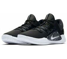 Mens Nike Air Zoom Hyperdunk X Low Trainers Black White AR0464 003 UK 17