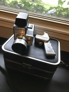 Bell & Howell Director Reflex 8mm Movie Camera Great Condition W/ Case