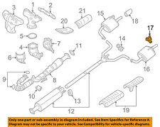 NISSAN OEM 12-18 Altima 3.5L-V6 Exhaust-Rear Muffler Mount Bracket 20651JA000
