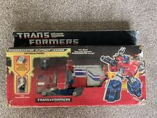Original Transformer Optimus Prime Powermaster In Box