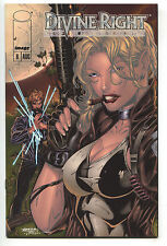 Divine Right 6 B Image 1998 NM Jim Lee Glow In The Dark Variant