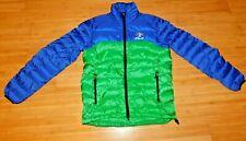 Ralph Lauren Polo RLX Quilted Down Parka Puffer Men Size M Medium Blue Green
