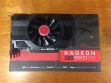 XFX - AMD Radeon RX 550 Core Edition 4GB GDDR5 PCI Express 3.0 Graphics Card