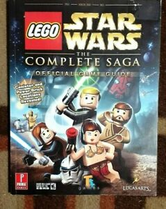 Lego Star Wars The Complete Saga Prima Official Strategy Game Guide