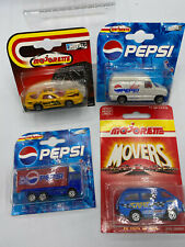 Majorette Diet Pepsi Delivery Van Wild Cherry Truck Sport Turbo Van Diecast Lot