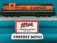 53502 BNSF Atlas N Scale SD-9 Engine DCC Ready NIB