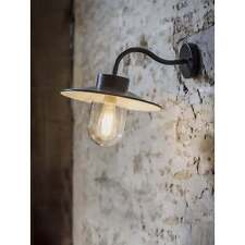 Garden Trading Swan Neck Light in Carbon - Steel