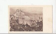 B79507 muzeum narodwe w warszawie poland  front/back image
