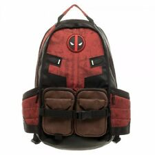 Deadpool Marvel Comic Super Hero Movie Civil War School Laptop Bag Backpack Gift