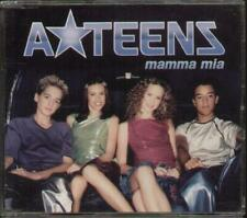 A-TEENS Mamma Mia  CD 4 Tracks, Radio Version/Guiseppe Remix/Jam Lab Remix/Extd