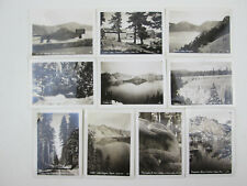 vintage 10 Views of Crater Lake Oregon Photograph Pack 3.5 x 2.5