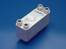Edelstahl Plattenwärmetauscher B3-12A-30 73kW 0,36m² ohne Isolierschale