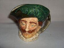 "Vintage Royal Doulton The Cavalier Miniature Toby Jug Mug Old Stamp ""A"" NICE"