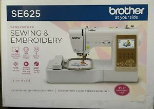 Brother SE625 Computerized Sewing & Embroidery w/ LCD SCREEN (READY TO SHIP)