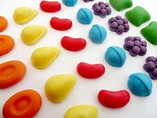 30 Candy Crush Comestibles azúcar Cupcake Topper Decoraciones Niños Juegos Cumpleaños