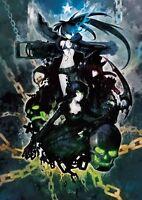 Black Rock Shooter Blu-ray&DVD English Subtitles Nendoroid Petit figure Set Ltd