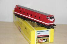 Brawa H0 0432 AC DR Deutsche Reichsbahn Diesellok U-Bot 229 100-3 - inkl. OVP