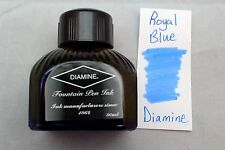 Diamine 80ml Fountain Pen Bottled Ink Royal Blue