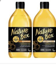 Nature Box Shampoo & Conditioner Set 100% Cold Pressed Oil 13fl oz Macadamia Oil