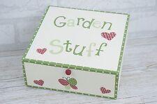 ROBA da giardino Scatola Di Immagazzinaggio RICORDO Semi FOTO MAMMA PAPA 'Nan Grandad F0881 W31