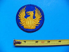 WWII ORIGINAL U.S. MILITARY PERSONNEL VETERANS ADMINISTRATIVE PATCH - NO GLOW