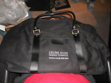 Rare CELINE DION World Tour 2008-9 Taking Chances CARRY BAG 20 X 14 X 8 NEW