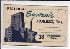 Hobart paper ephemera, Pictorial souvenir of Hobart, Tasmania, 18 views