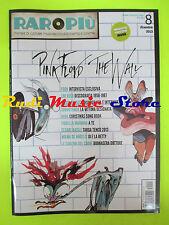 rivista RARO PIU' 8/2013 POSTER Muse Pink Floyd Pooh Lou Reed Mina Mannoia No cd