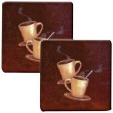 """Range Kleen Hp77As Hot Pad """"Coffee"""" Kovers 2 pk"""