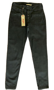 Levis 311 Shaping Skinny Stretch Women's Jeans With Button Fly (W33 L29 ) Black