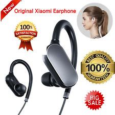 Original Xiaomi Mi Bluetooth 4.1 Headphones Sports Music Mic IPX4 Waterproof