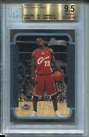 2003 Bowman Basketball #123 Lebron James Rookie Card RC Graded BGS Gem Mint 9.5