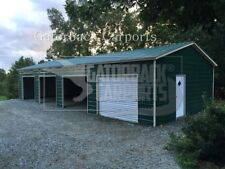 Steel Building 20x41 Garage Workshop $9,599 free delivery and installation
