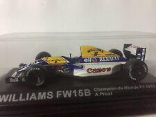 Miniature Williams Renault FW15B Formule 1 F1 1/43 Altaya Ixo 1993 Alain Prost