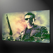 More details for terminator arnold schwarzenegger wall art canvas print picture variety of sizes