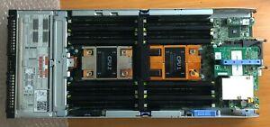 Dell PowerEdge FC630 Dual Xeon E5-2603 V3, 2 x 6-Core 1.6GHz/No RAM/2X120GB SSD