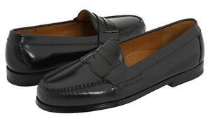 COLE HAAN Men's Leather Penny Loafer in Black or Burgundy, Orig. $158.00