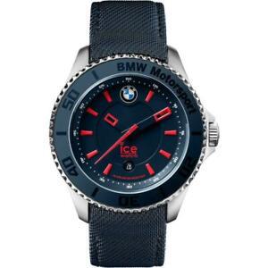 Mens Wristwatch ICE WATCH BMW MOTORSPORT BM.KLB.B.L.14 Medium 40mm Leather Blue
